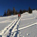 Skitour Hintersee